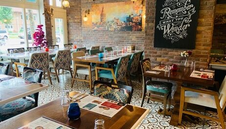 Dinerbon.com Amsterdam Turquoise Meating
